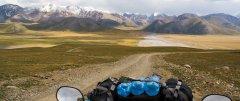 Von Kirgistan über Tajikistan nach China in die Taklamakan Wüste